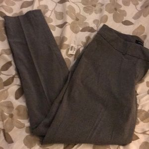 Grey dress pants